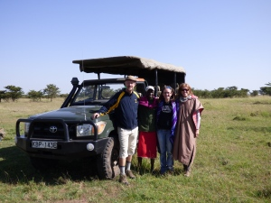 Safari with Mommy and Baba 747